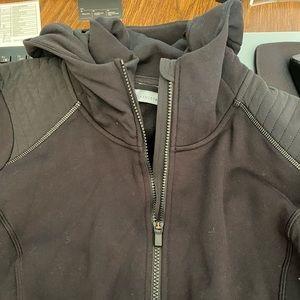 Athleta black zip up hoodie